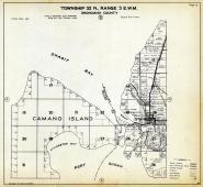Township 32 N. Range 3 E.W.M., Camano Island, Stanwood, Port Susan, Snohomish County 1927